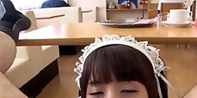 maid cafe yuka fellatio service