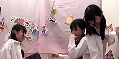 incredible japanese chick in exotic hd group sex jav movie