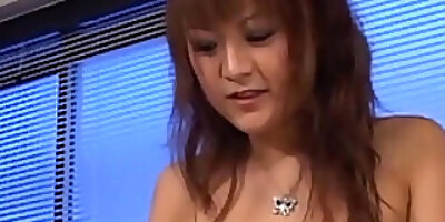 betty lin hot asian office lady gets big tits fucked