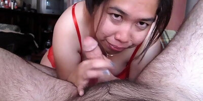 malay chinese slut giving me a great blowjob