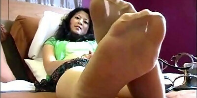 asian wife fucked while cuckolding her sissy husband