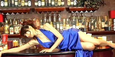 silent night ayano in blue dress non nude