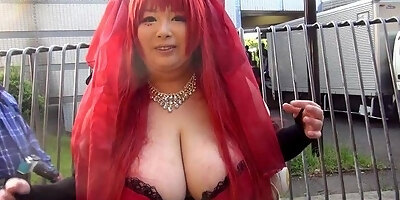 japanese girl with massive tits part 1