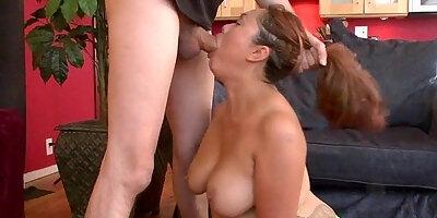 asian chubby girl harley big boobs sucking cock deep monster
