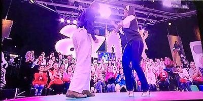 liza hanim in tight jeans