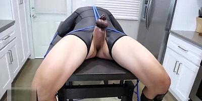 rubber mistress an li cbt whips bondage slave