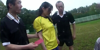 asian lass with perky boobs rides her cunt with a pecker