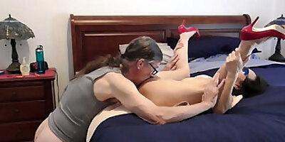 mature asian fucks in red heels