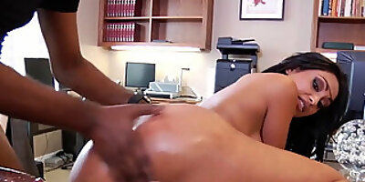 busty indian woman takes big black cock