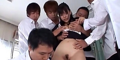 asian wife get squirting orgasm on monster black vibrator 2