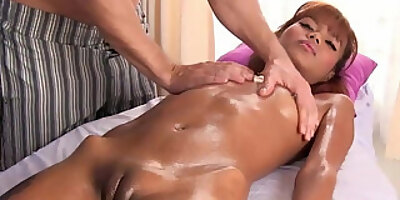 asian massage happy ending with skinny thai girl