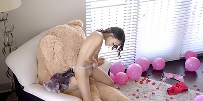 petite asian teen brunette jasmine grey sucked her roommates cock and got fucked better than ever