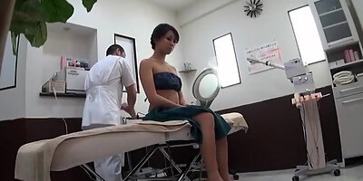 incredible japanese chick in best fingering small tits jav clip