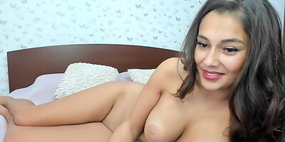 my stepmom lies on bed and slutty with mates on cam p10