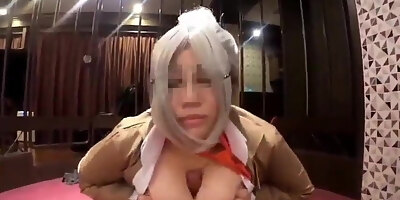 who is this japanese big titty babr