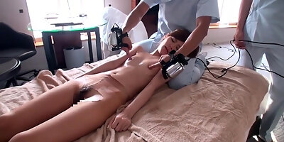asian milf ryou hashimoto is teased with pussy toys