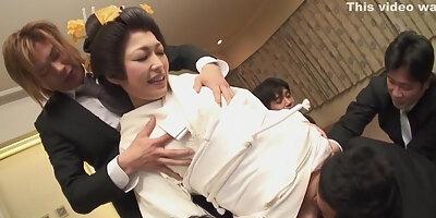 sexy wife yui ayana gets gangbanged