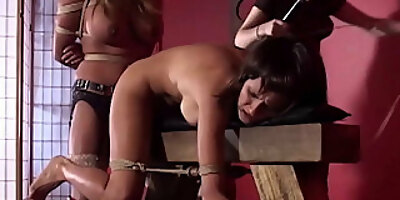 submissive maxine x and jody cum with mistress chantal rose