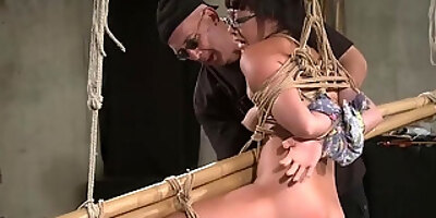 lilly ligotage sophie in bamboo prison kink